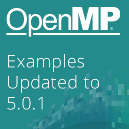 OpenMP Examples - Updated with 5.0 Features